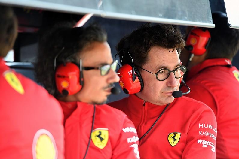 Ferrari pushing against standard parts element of 2021 F1 rules