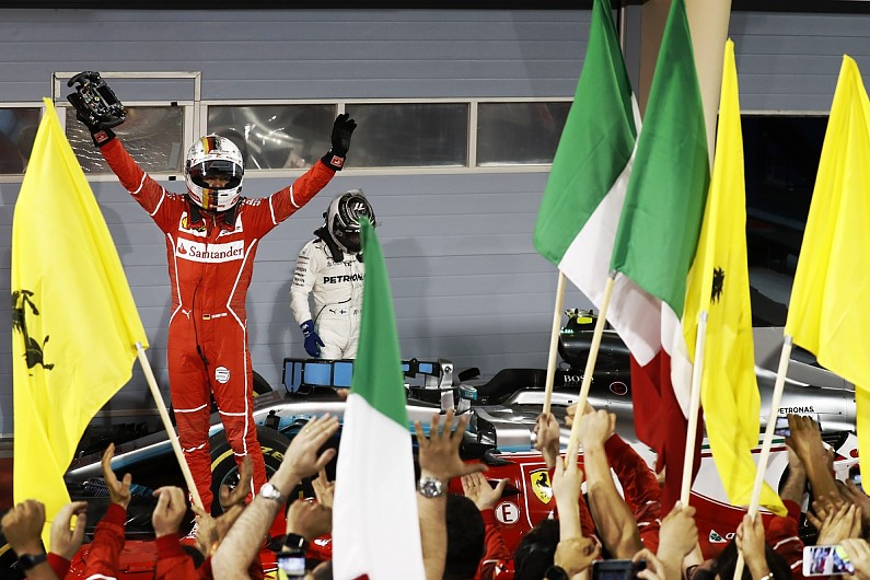 Bahrain Grand Prix: Sebastian Vettel beats Lewis Hamilton ...
