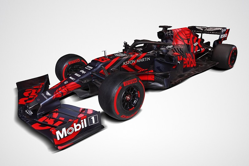 05d7ed03bc3 Red Bull unveils 2019 Honda-powered F1 car in  one-off  livery - F1 ...