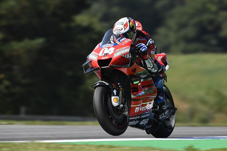 "Czech MotoGP: Ducati's Dovizioso ""worried"" by ""crazy"" tyre behaviour at Brno"