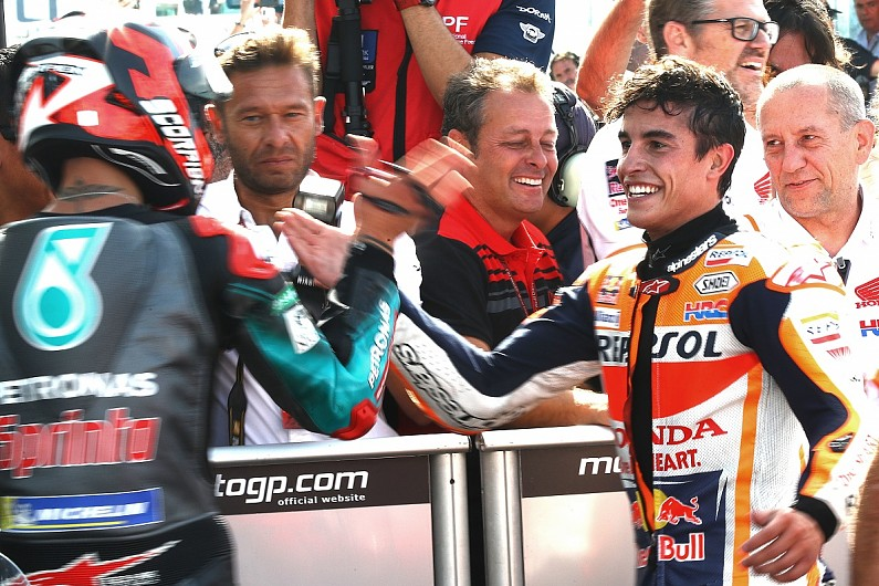 Marquez: Quartararo has talent, potential for 2020 MotoGP title fight