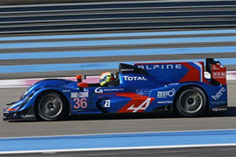 Alpine tops Paul Ricard ELMS test