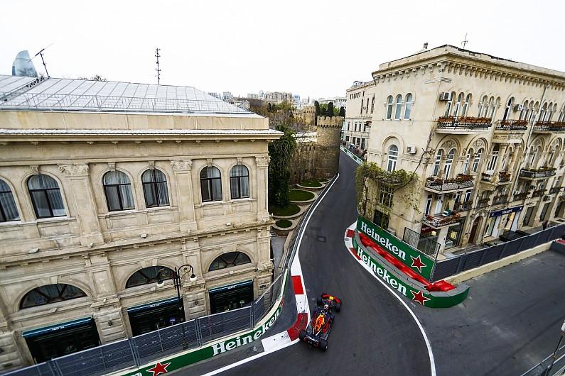 Azerbaijan Grand Prix >> Azerbaijan Grand Prix Ricciardo Leads Raikkonen In Baku Practice
