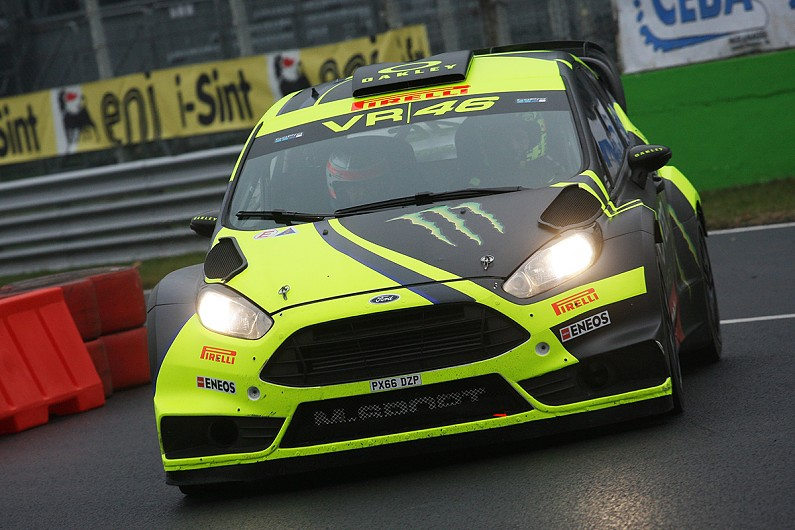 Valentino Rossi Overcomes Penalty To Win Monza Rally