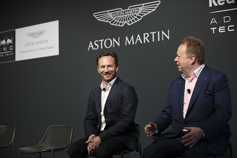 Red Bull Absolutely Open To Running Aston Martin Engine In F1 F1