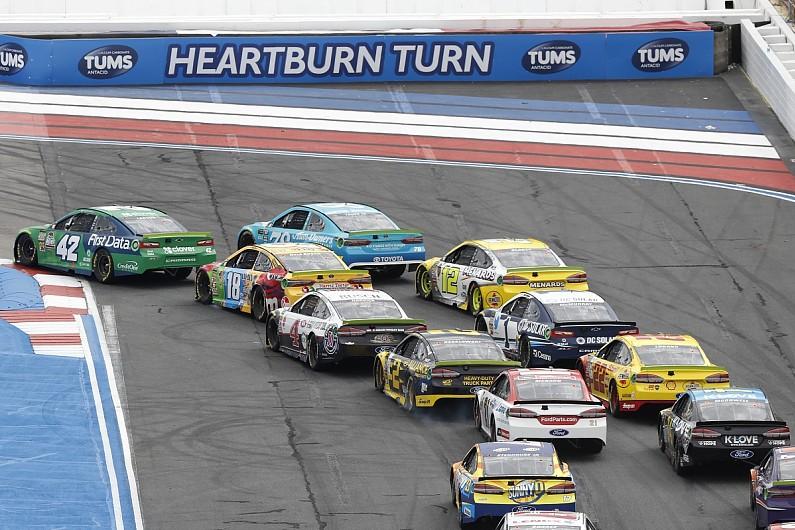 Busch: Drivers being stupid explains NASCAR Cup Roval restart crash - NASCAR - A...