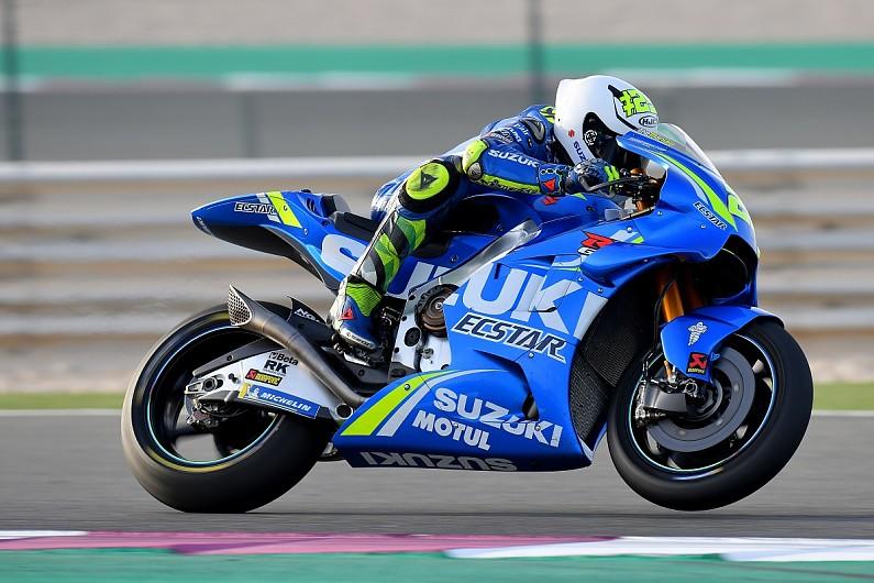 Motogp Qatar Test Iannone Fastest For Suzuki On Second Day Motogp