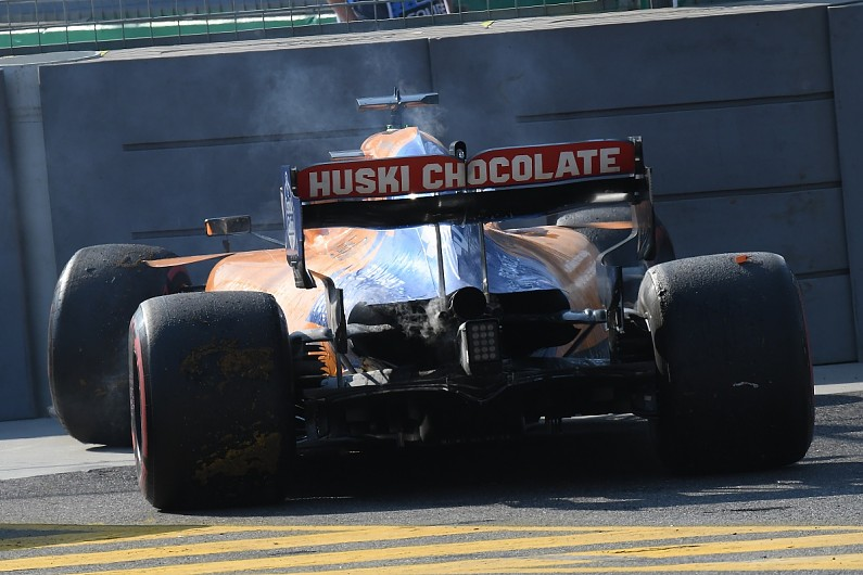 Carlos Sainz Jr: McLaren F1 debut in Australian GP full of bad luck