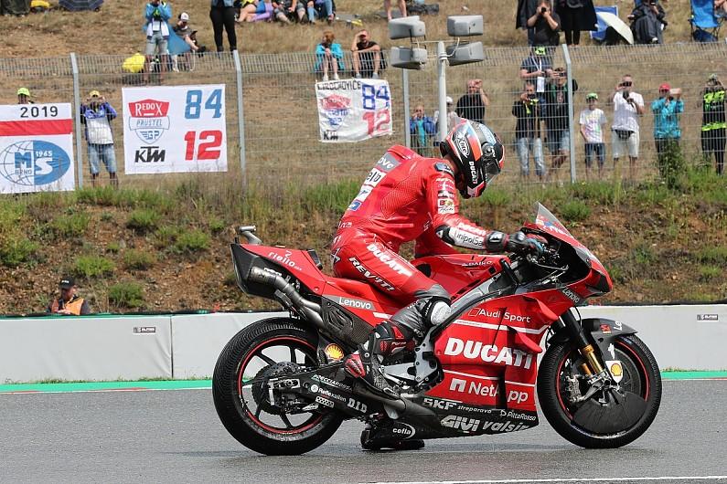 Ducati's Petrucci