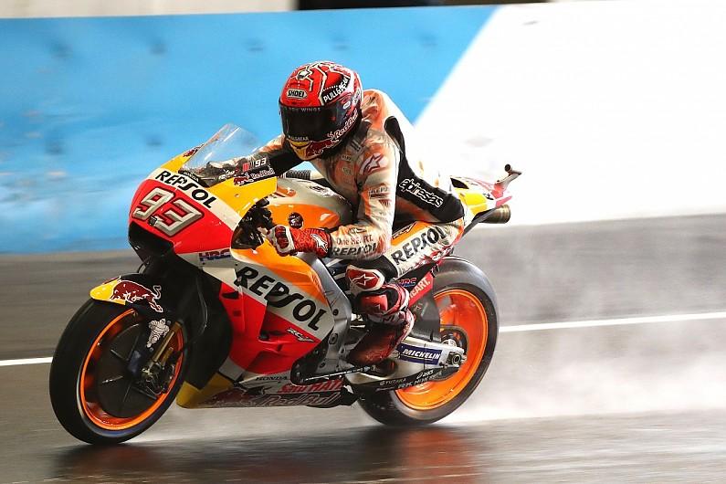 Motogp Motegi Marquez Tops Fp3 Vinales Forced Into Q1 Motogp