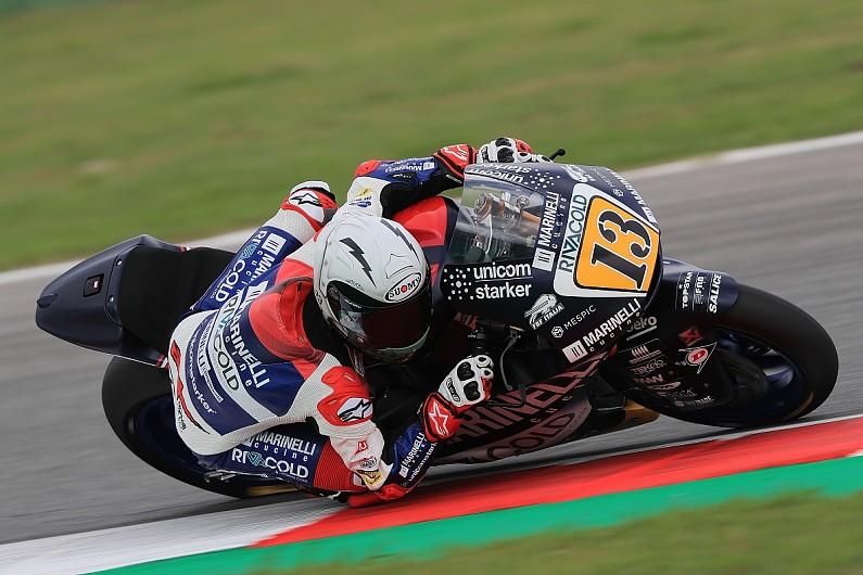Misano Moto2: Romano Fenati excluded for grabbing rival's