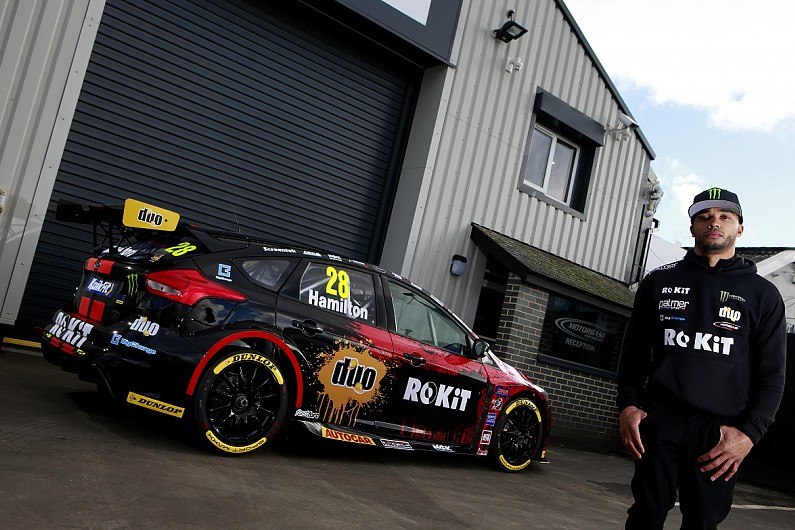 Nic Hamilton back to British Touring Cars with Williams F1 sponsor