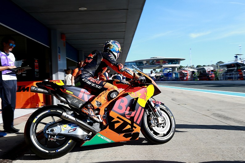 Ktm Motogp Bike No Longer Kicking Like Crazy With New