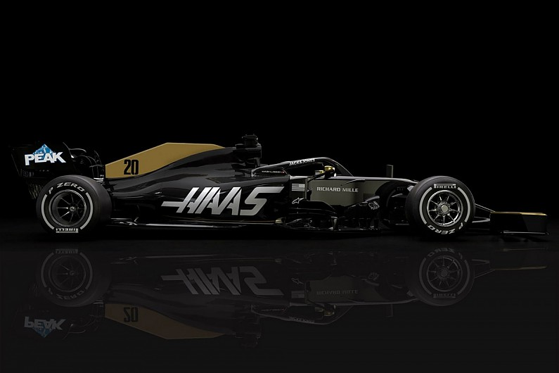 Haas reveals revised F1 livery after title sponsor Rich Energy exit