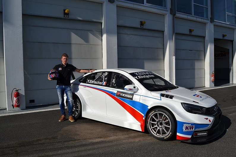Lada Back In World Touring Car Championship With Mulleru0027s Nephew   WTCR    Autosport