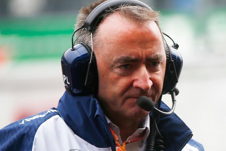 "Williams: Paddy Lowe, se toma una ""licencia"" del equipo de Fórmula 1."