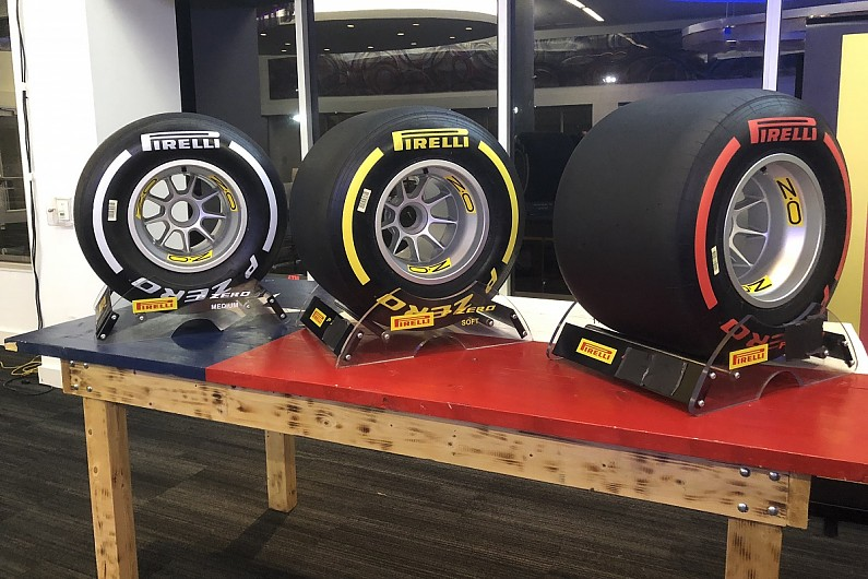 Pirelli Reveals Changed Colour Range For 2019 F1 Tyres F1 Autosport