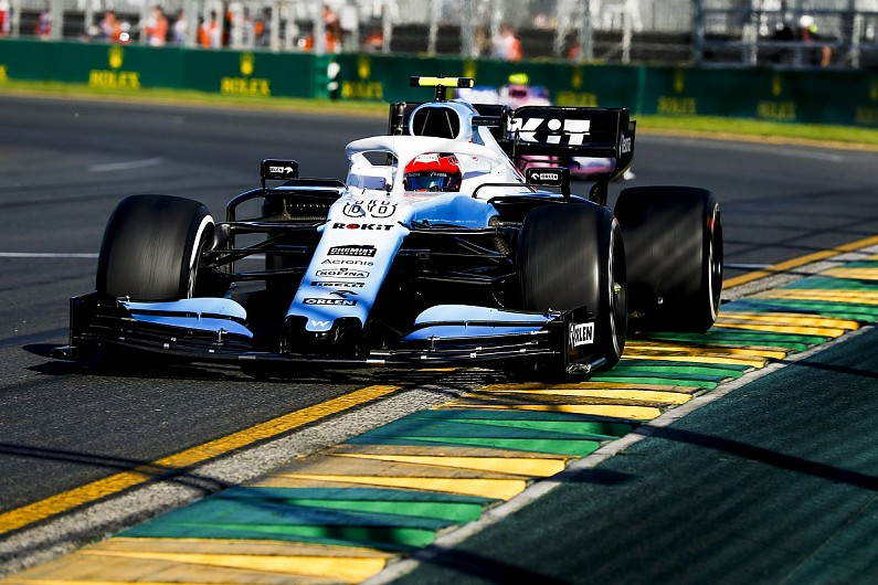 Kubica claims Williams F1 spares shortage forced him to avoid kerbs