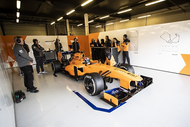 Video: Behind the scenes at Gamble's Award McLaren Formula 1 test