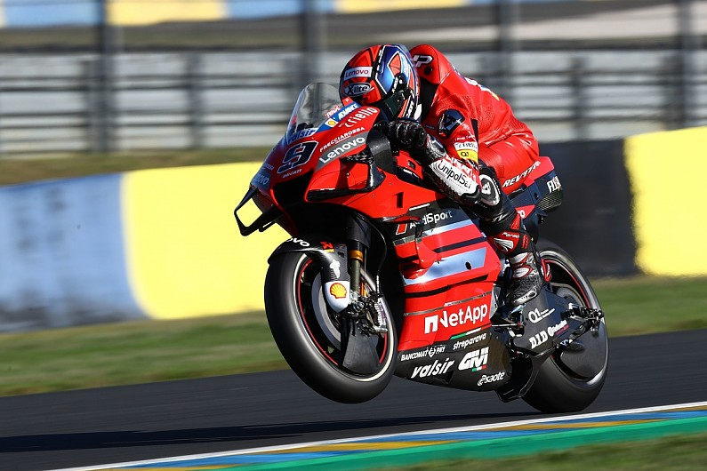 Petrucci expects 10-rider podium battle in MotoGP French GP - Motor Informed