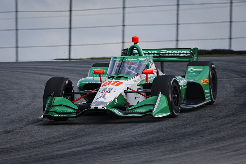 Mid-Ohio IndyCar: Herta grabs pole for race two after rain-hit qualifying - Motor Informed