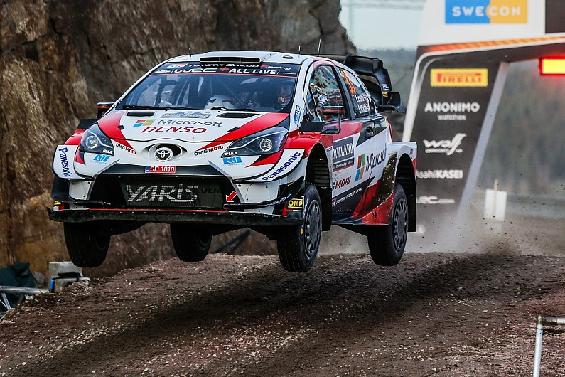 Rally Sweden WRC: Dominant Evans wins on second start for Toyota