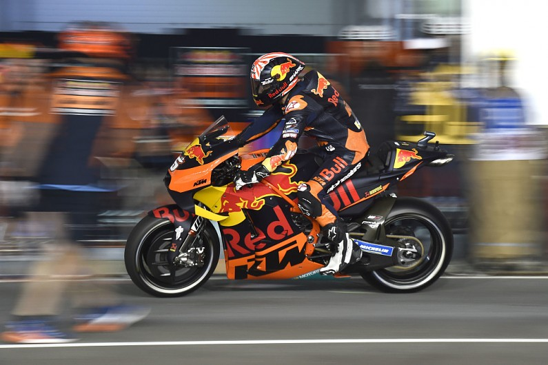 KTM won't alter its MotoGP chassis or suspension philosophy