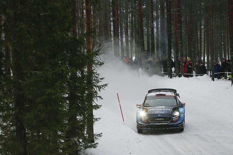 WRC Rally Sweden: Teemu Suninen error leaves Ott Tanak in big lead