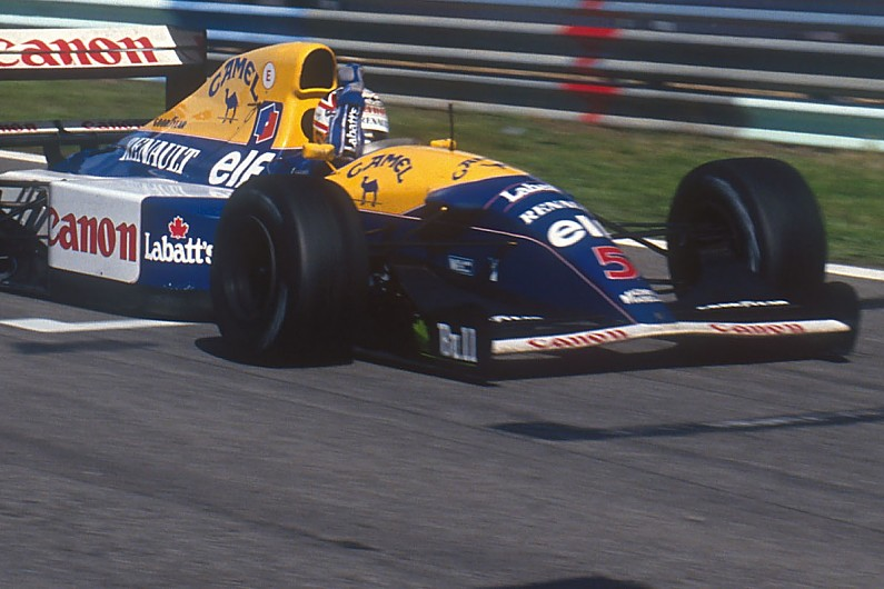 Video: Looking back at Williams's iconic FW14B F1 car
