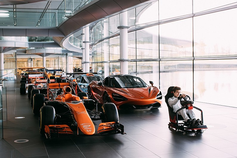 mclaren f1 team offers simulator role as prize for esports contest
