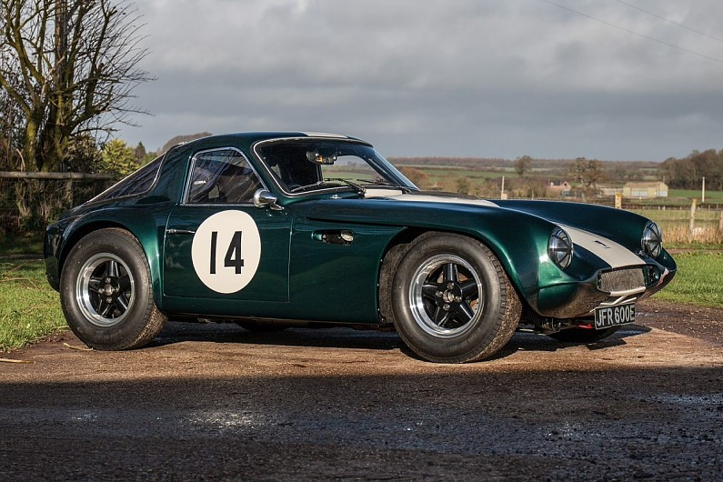Classic And Racing Cars Under Auction At Autosport International