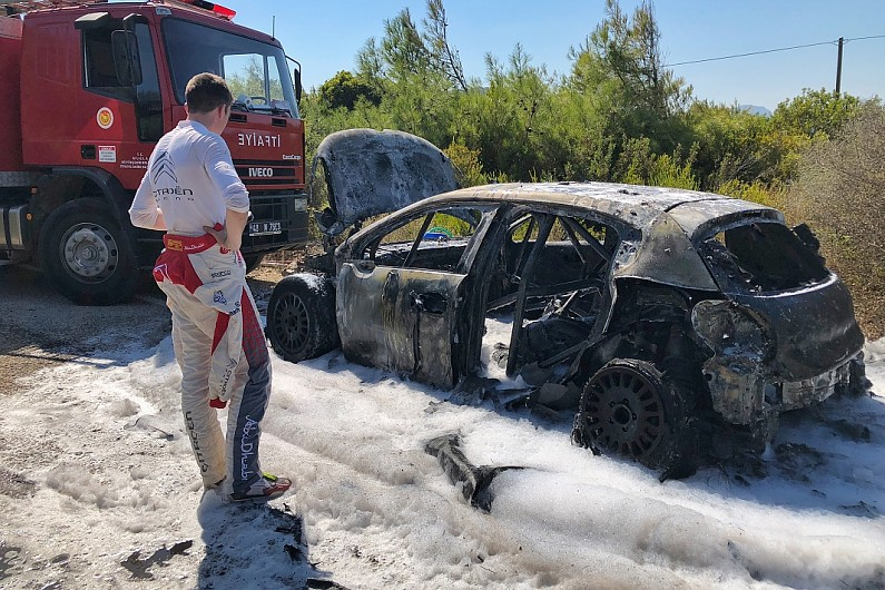 Citroen To Investigate Craig Breen S Car Destroying Wrc Turkey Fire