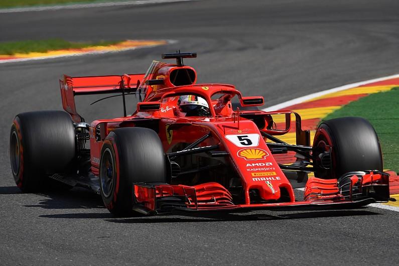 Formula  Vettel Leads Ferrari One Two In Final Spa Practice F Autosport