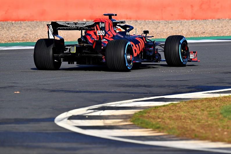 64de71327e0 First Red Bull-Honda Formula 1 run left Max Verstappen  smiling  - F1 -  Autosport