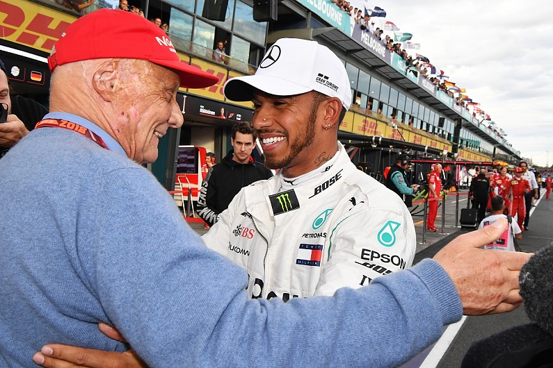 Lewis Hamilton: I'd only have one Formula 1 title without Niki Lauda