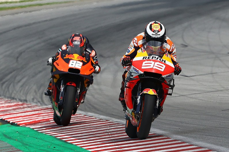 Jorge Lorenzo apologises for letting Honda down as he leaves MotoGP