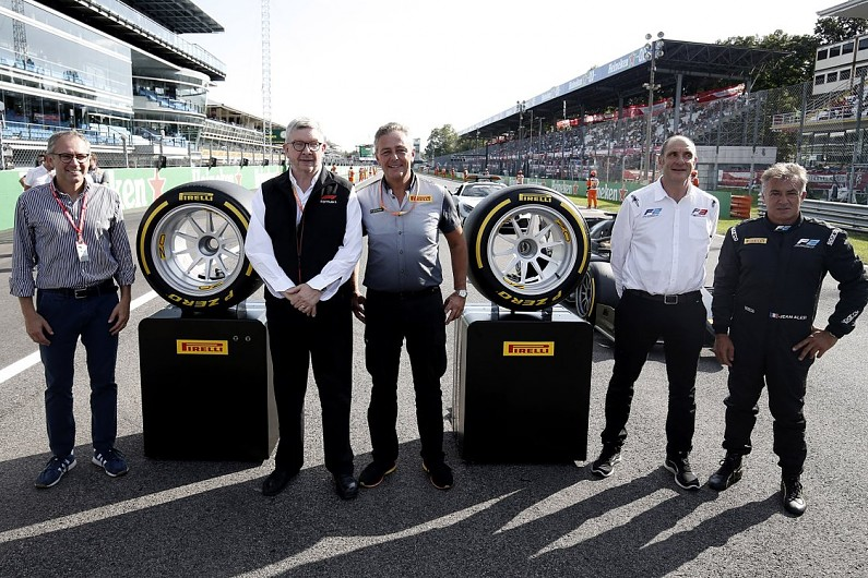 F1's 2021 18-inch wheels revealed at Monza in Alesi F2 demo