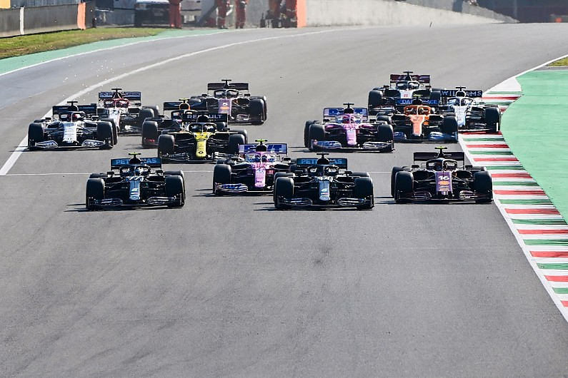 Hamilton's brake fire on F1 Tuscan GP grid down to limited cooling - Motor Informed