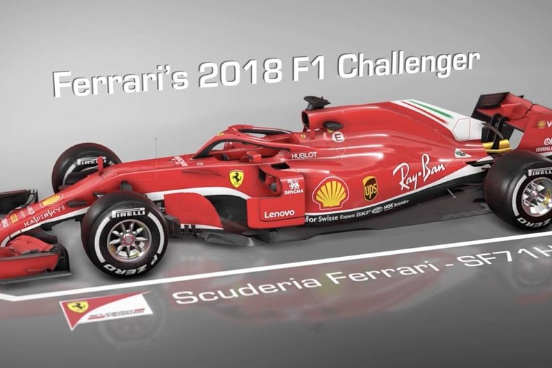 video how ferrari 39 s 2018 f1 car differs from its predecessor f1 autosport. Black Bedroom Furniture Sets. Home Design Ideas