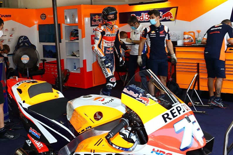 "Marquez: MotoGP Emilia Romagna seventh ""not a real"" result - Motor Informed"