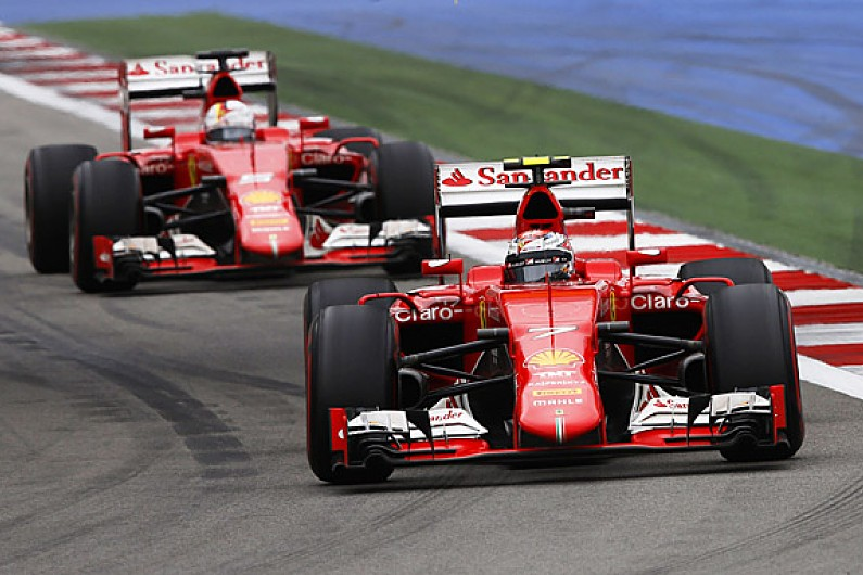 ferrari delayed work on its 2016 f1 car for 2015 push f1 autosport. Black Bedroom Furniture Sets. Home Design Ideas