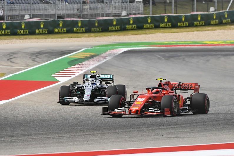 Hamilton/Wolff think Ferrari's F1 engine edge has shrunk at Austin