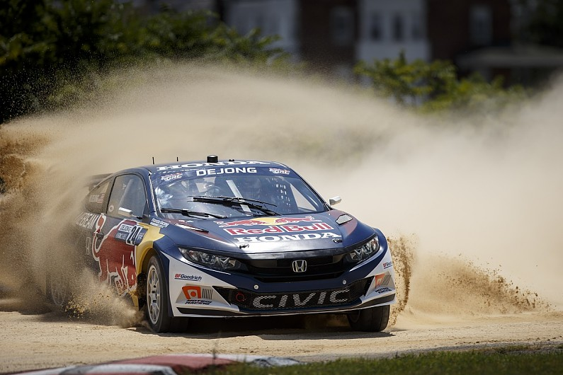 Grc Civic >> Ex Grc Honda Civic Coupe Approved To Compete In World Rallycross