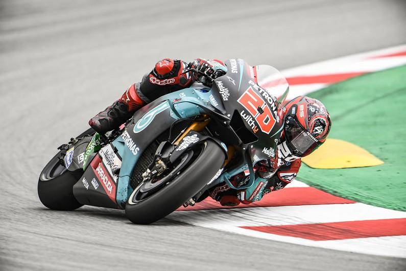 Quartararo beats Dovizioso in Catalunya MotoGP FP2