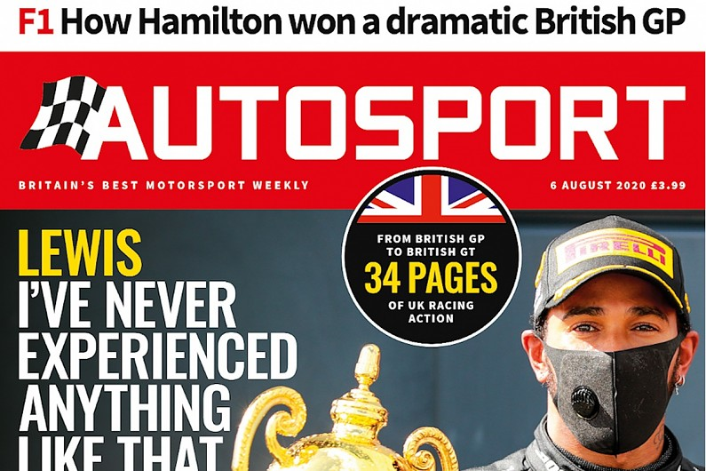 British Grand Prix review issue of Autosport magazine hits the shelves