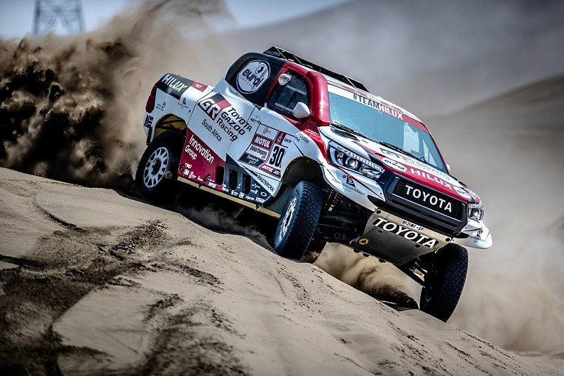 Toyota has to win the 2019 Dakar Rally, says team manager