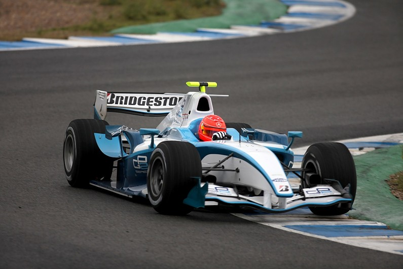 Video: When Michael Schumacher used a GP2 car before his