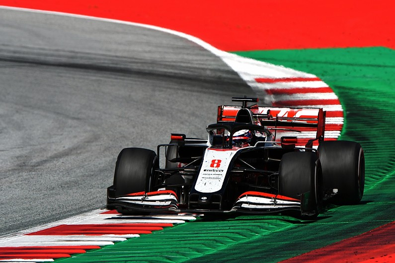 Grosjean: Insufficient brake cooling caused Haas new issue in F1 Austrian GP
