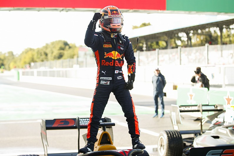 Monza FIA F3: Red Bull and Honda junior Tsunoda gets first