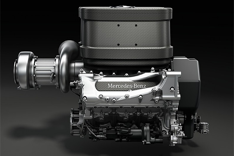 mercedes reveals 2014 formula 1 engine f1 autosport. Black Bedroom Furniture Sets. Home Design Ideas
